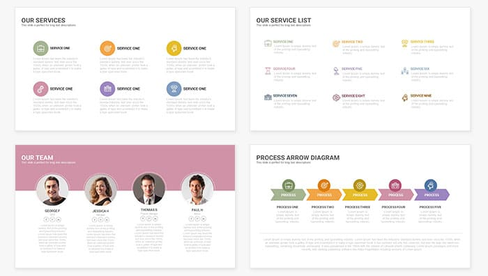 Touch Free Powerpoint Presentation Template  Slidecompass