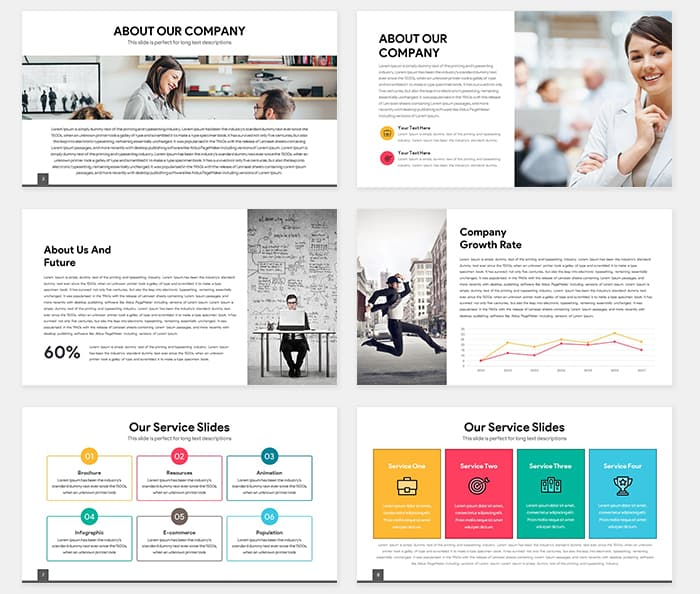 Light Free Multipurpose PowerPoint Template