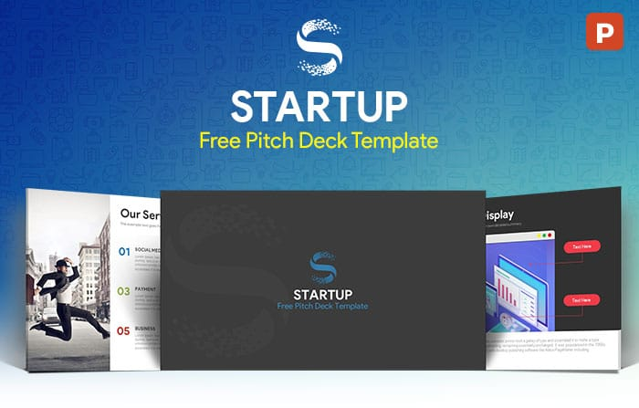 Startup Free Pitch Deck PowerPoint Template - SlideCompass