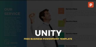 Unity-Free-Business-PowerPoint-Template-Mockup