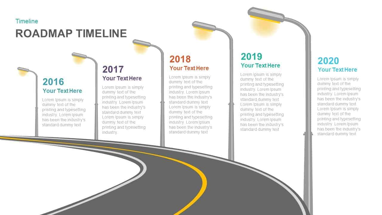 What Is Roadmap Timeline PowerPoint And Keynote Template - Roadmap timeline template ppt